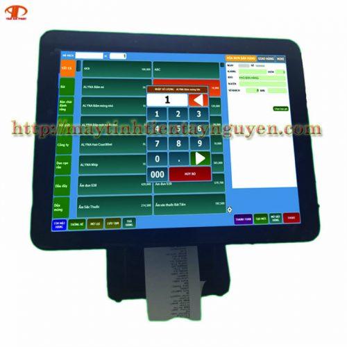 Máy tính tiền cảm ứng tích hợp in Bill TAPPOS 1520