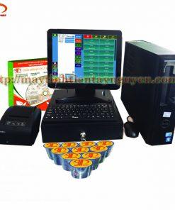 Máy Tính Tiền Cảm Ứng Case Dell cho Cafe - Nhà Hàng
