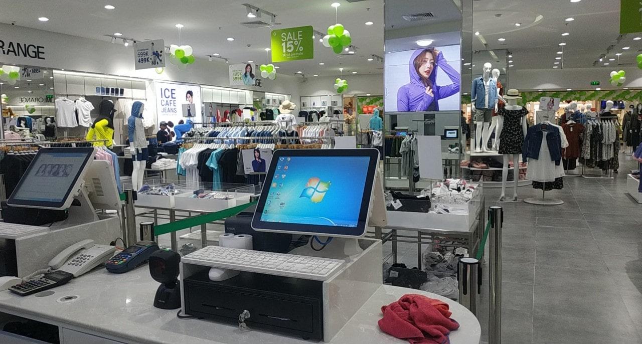 Máy Tính Tiền Cho Aeon Mall Tân Phú