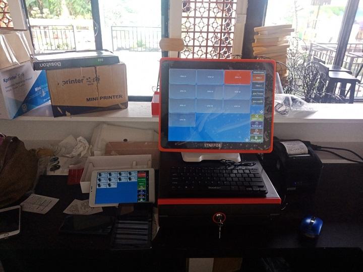 Máy tính tiền cảm ứng tại Quảng Nam